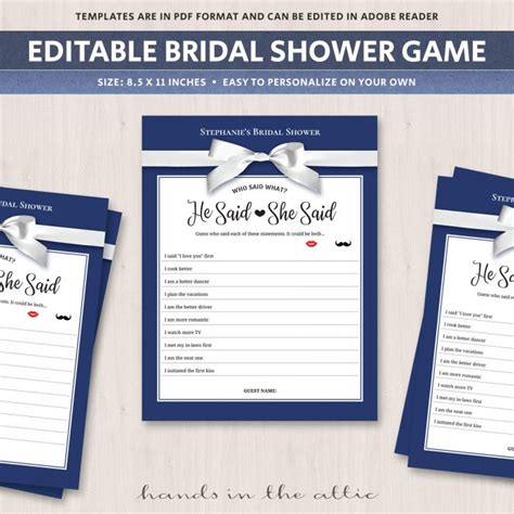 Co Ed Bridal Shower And Activities by What Is In Your Purse Bridal Shower Navy Blue