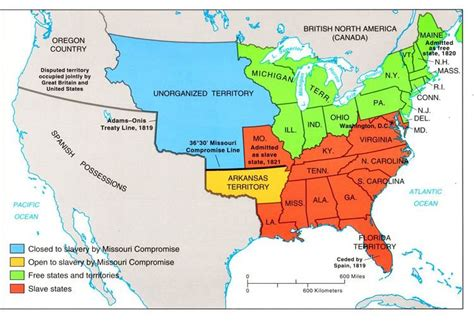missouri compromise map activity answers the missouri compromise and the compromise of 1850