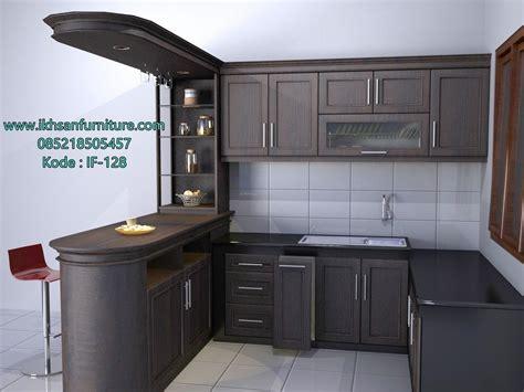 jual kitchen set minimalis elegan model kitchen set