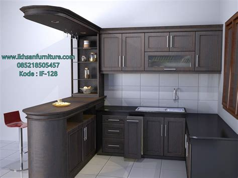 kitchen set furniture jual kitchen set minimalis elegan model kitchen set