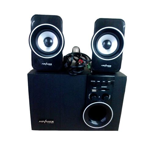 Speaker Advance M680bt speaker advance m180 bt bluetooth elevenia
