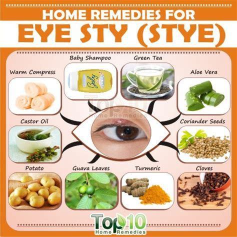 home remedies for eye sty stye top 10 home remedies
