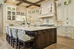 traditional kitchens with islands 35 large kitchen islands with seating pictures