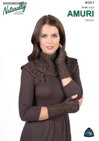 knitting patterns hats scarves gloves n1211 shawl fingerless gloves