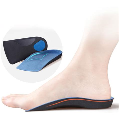 orthopedic running shoes for flat aliexpress buy half arch support orthopedic insoles