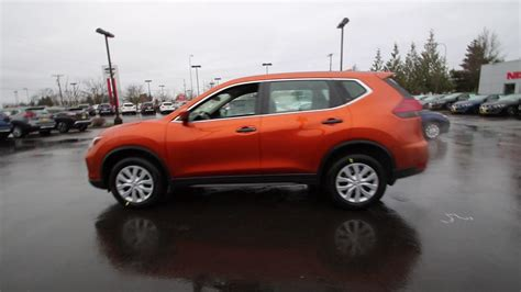 orange nissan rogue 2017 nissan rogue s monarch orange hc750971 kent