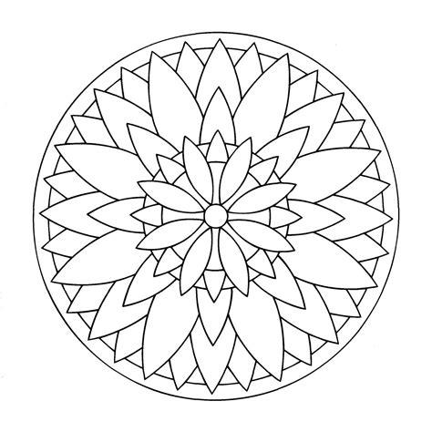 flor mandala para imprimirflor mandala mandalas para imprimir flores imagui