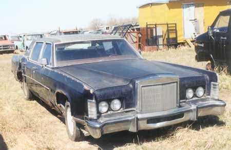 1978 lincoln town car parts 78 ford continental 4drtown car ref255