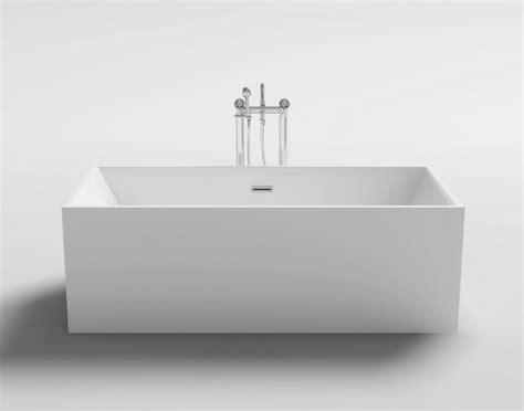 vasca moderna vasca da bagno rettangolare 170x80 179x80 freestanding in