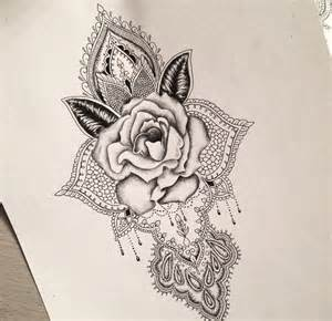 Flower Tattoo Sleeve Designs - best 10 rose mandala tattoo ideas on pinterest atouage