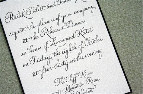 Handwritten Letter Wedding Invitation Calligraphy And Handwritten Wedding Paper