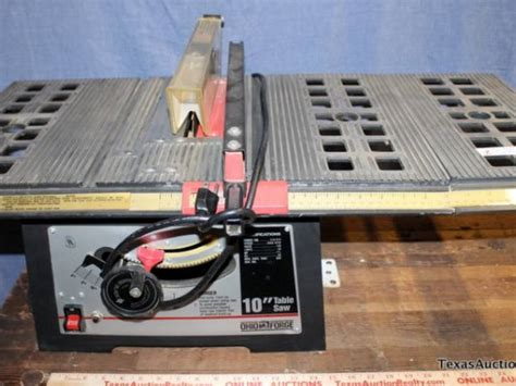 Ohio Forge Table Saw ohio forge 10in table saw