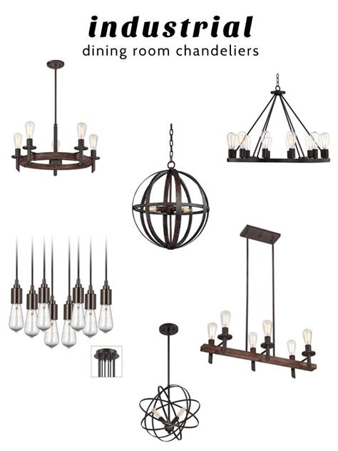 Industrial Dining Room Chandeliers From Lsplus Home Industrial Dining Room Lighting