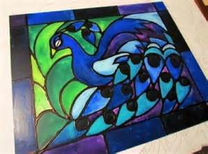 Stained Glass Window Paint Diy Glass Painting Patterns Ideas