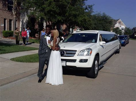 Prom Limo Service by Mercedes Limo For Prom Limo Service Houston Limousine