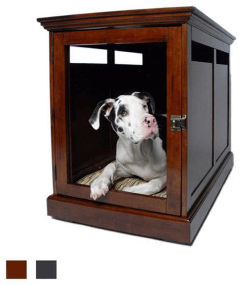designer dog crates townhaus designer dog crate traditional dog kennels and crates