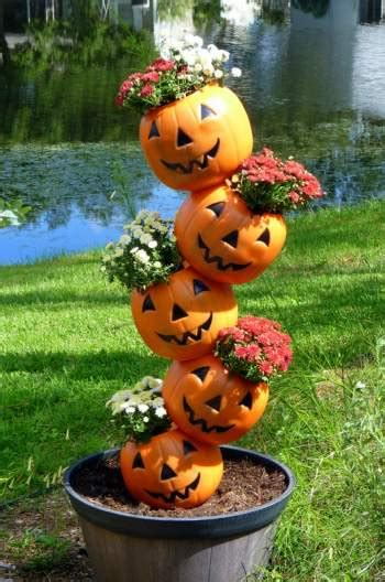 Pumpkin Planter by Tipsy Pumpkins Birds And Blooms