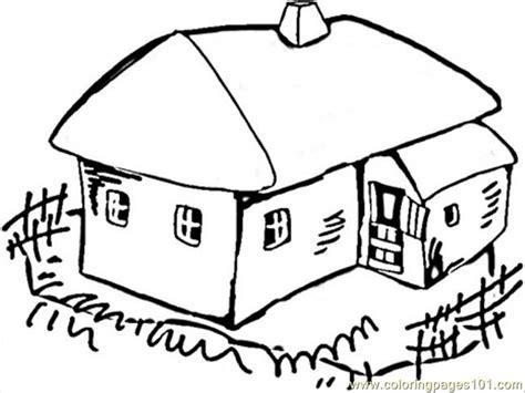 village house coloring pages house in the village coloring page free ukraine coloring