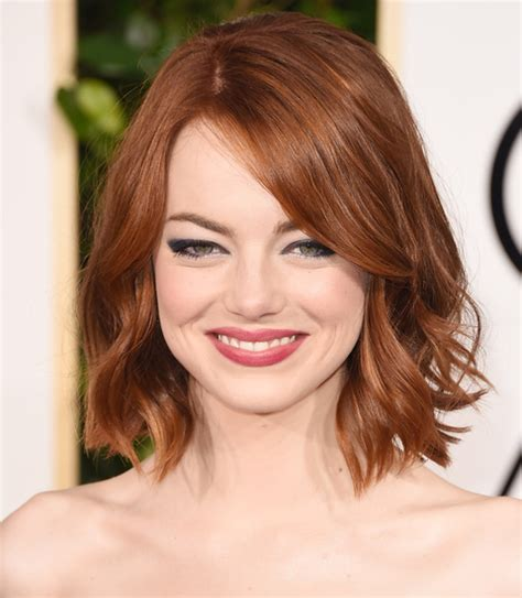 emma stone natural hair ronze hair color ideas hair world magazine