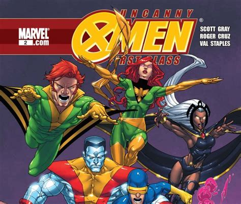 Marvel X Class 1 uncanny class 2009 2 comics marvel