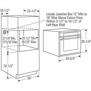 Kitchen Oven Width Kitchen Design Guidelines Bonito Designs