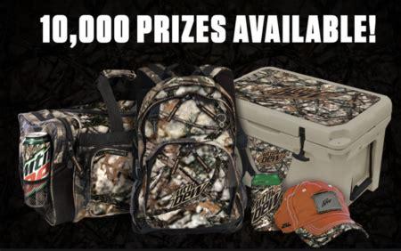 Win 10000 Instantly - enter to win free mt dew gear instantly 10 000 winners