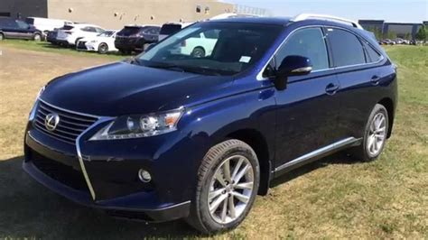 blue lexus rx new blue 2015 lexus rx 350 awd technology pckg review