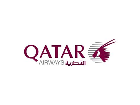 qatar airways qatar airways vector logo commercial logos air