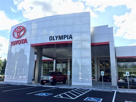 toyota store experience upgraded amenities at the toyota of olympia