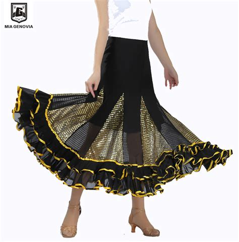 swing dance dresses and skirts swing latin ballroom dance skirt square dancing sequined