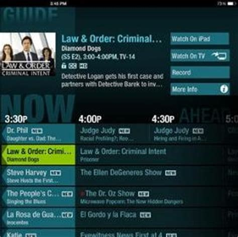 cablevision app adds on the go tv viewing news opinion