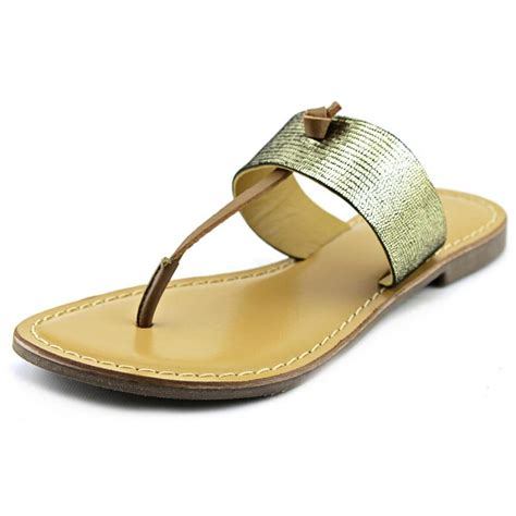 rebel sandals rebels rebels paityn leather gold sandal