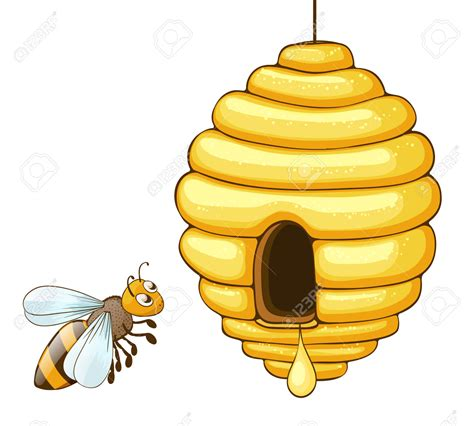 bee hive clip bee hive clipart flying pencil and in color bee hive