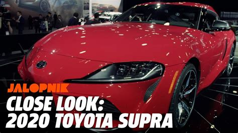 2020 toyota supra jalopnik up and on with the 2020 toyota supra