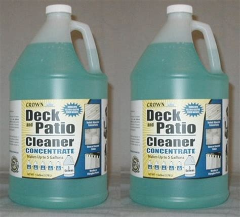 Patio Deck Cleaner by Deck Patio Cleaner 2 Gallon Pack