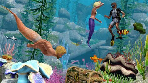 mermaid the sims wiki wikia island paradise mermaids