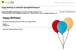 feature happy birthday from your child care center easy and affordable child care software