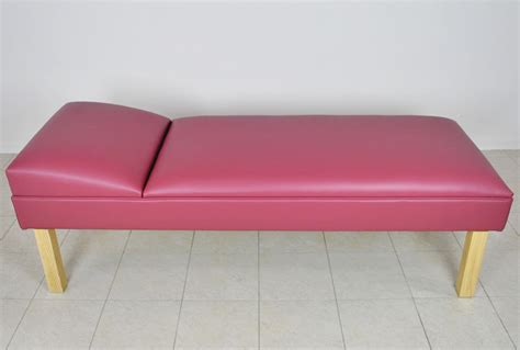 recovery couch fixed headrest recovery couch wmc manufacturing