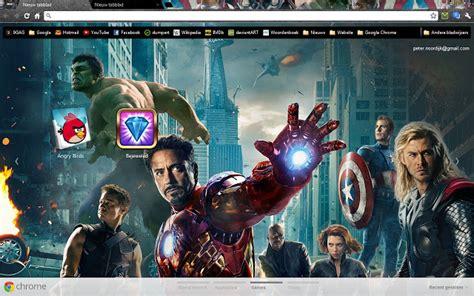 chrome theme avengers the avengers chrome web store