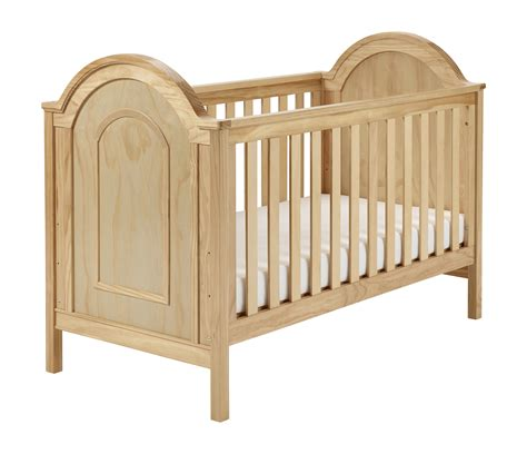 cot bed albert cot bed 226 natural cot bed babymore