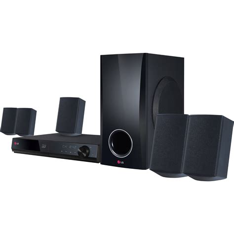 Home Theater System by Lg 5 1 Channel 500w 3d Smart Home Theater System