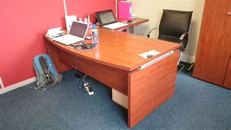 Large Office Desks For Sale Solid Wood Large Office Desk For Sale In Naas Kildare From Supermama