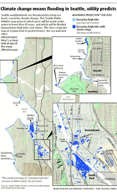 seattle map georgetown seattle utilities maps the local effects of global