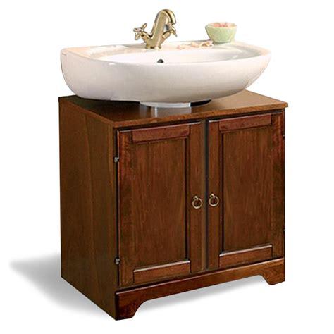 mobili bagno sottolavabo copricolonna universale sottolavabo con 2 ante arte povera