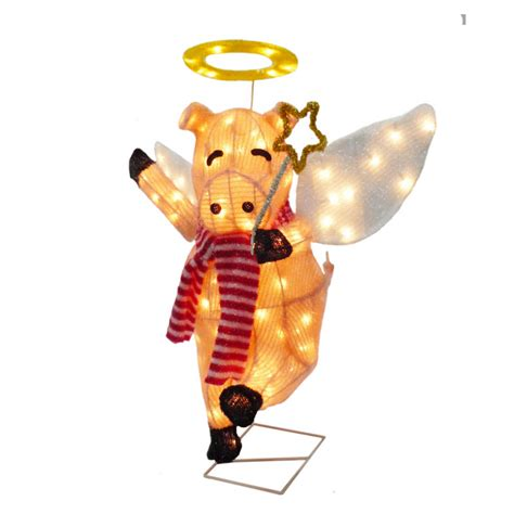 pink flying pig outside christmas decoration flying pig decoration outdoor www indiepedia org