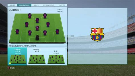 best for motion fifa 16 barcelona best formation