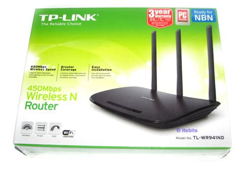 Router Tp Link Wr941nd tp link tl wr941nd v6 0 450mbps wireless n router 4x fixed lan 1x wan port ebay