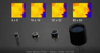 imaging ir sensors thermopile arrays boston electronics