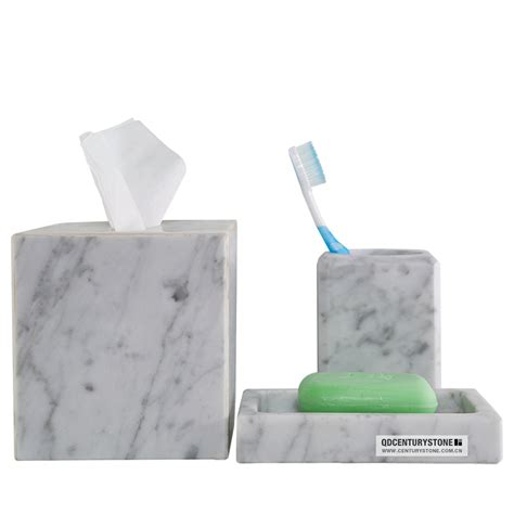 beautiful carrara white marble bathroom accessories buy