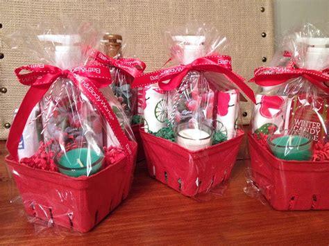 sohl design christmas mini gift baskets